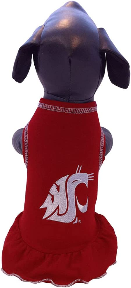 NCAA Washington Max 90% Special price for a limited time OFF State Cougars Cheerleader Color Dress Team Dog