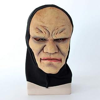 ハロウィーンホラーマスク、スピリチュアル修道女ヘッドマスク、クリエイティブ Vizard マスク、パーティー仮装ラテックスマスク