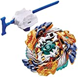 YOUNG TOYS Battling Blades Game B-122 Geist Fafnir.8'.AB Beyblades with Launcher Stater Set
