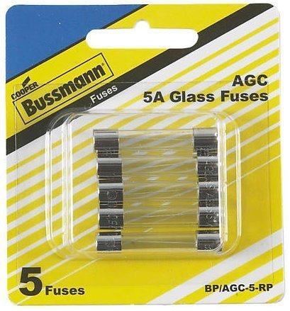 Buss Fuses 5 A 5/Carded by Bussmann