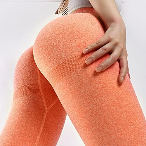 ShFhhwrl Mujer Leggins Pantalones De Yoga para Gimnasio para Mujer, Ropa Deportiva Sin Costuras, Mallas Elásticas De Cintura Alta, Mallas Deportivas para Ejerc