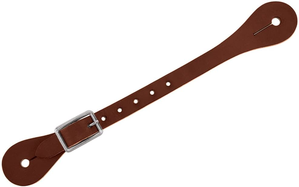 Weaver Leather Single-Ply Ladies//youth/' Spur Straps brown 30-1069