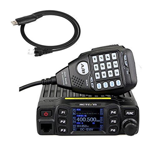Retevis RT95 Doppia Banda Radio Mobile per Auto 25W 200 Canali per...