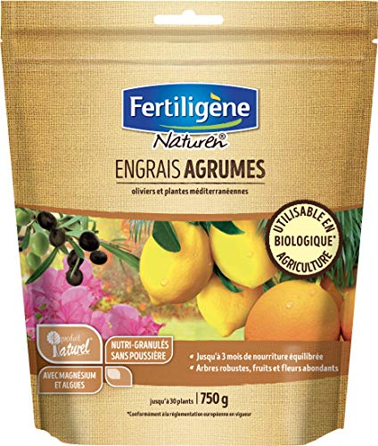 Naturen Engrais Agrumes et Plantes Mediterraneennes 750gr