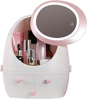 Mode Nieuwe Make-up Organisator, Grote Capaciteit, Waterdichte en Stofdichte Badkamer Cosmetische Opbergdoos, Bureaublad S...