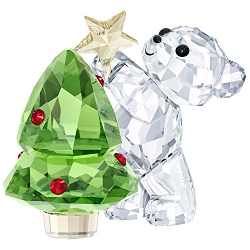 Swarovski Kris Bear–Christmas, A.E. 2018, Cristal, Multicolor, 4.4x 4.9x 3.1cm,