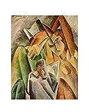 La familia del arlequín de Pablo Picasso Cuadro Decoración Pared Cuadros Para Dormitorios Modernos Lienzo Cuadros Decorativos Decoracion de Salones (35x45cm14x17pulgada, sin marco)