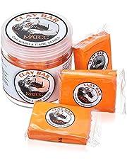 MATCC Auto Klei Bar Auto Detailing Klei Bar 3 Pack 100g Premium Grade Clay Bar Cleaner Wassen Supplies met Wassen en Adsorptie Capaciteit voor het Schoonmaken van Auto's, RV, Boten en Bus