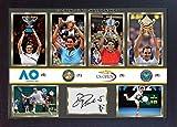 SGH SERVICES Gerahmtes Poster Roger Federer, signierter