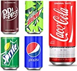 Beer Can Covers That Look Like Soda, Silicone Beer Can Cover, Hide A Beer Can Soda Covers Suitable for All 12FL OZ 355ml Aluminum Can (5 Pack)