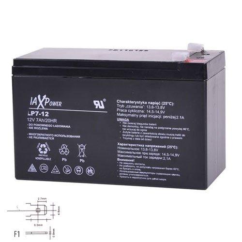 MaxPower Gelakku Ersatzakku Gel Akku AGM Batterie 12V 7.5Ah
