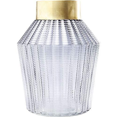 Kare Design Barfly Vase, grey, 30 cm