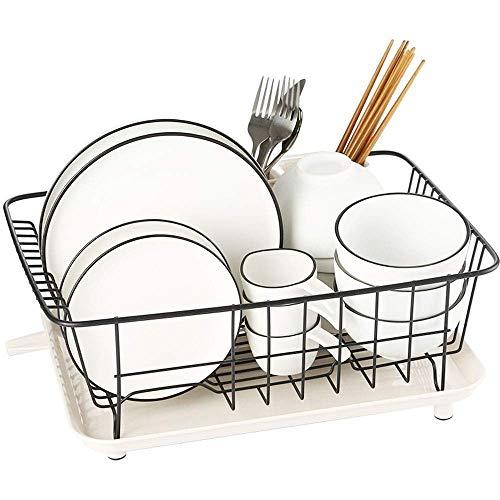 Keuken plank keuken plank Afdruiprek RVS Drain Rack 40 * 30 * 17cm ZHW345