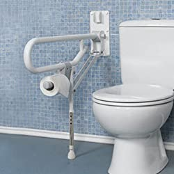Drop Down Flip Up Grab Bars For Toilets And Beyond