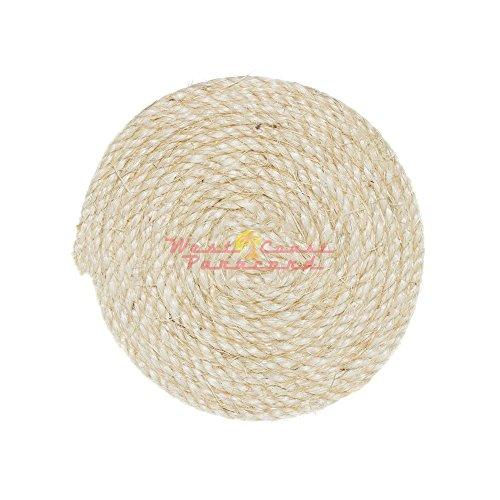 1/4-inch Premium Sisal Rope - 100 Feet - Pet Friendly