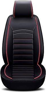 Capa de assento Entweg, capa de assento de automóvel de couro PU universal para assento frontal de carro, acessórios internos