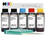 500 ml de Tinta Para Recargar, Tinta De impresora Para Canon PGI-550, PGI-555XL, CLI-551 Cartuchos Para impresora, Canon Pixma MX 925, MX 725, MG 6350, MG 5450, IP 7250 (Non OEM)