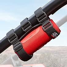 Kemimoto UTV Speaker Mount, Adjustable 2 Strap Style Roll Bar Holder Compatible with UTV Polaris RZR Can Am Kawasaki Bike Speaker Water Bottle Mount, Compatible with JBL Pulse Charge 3