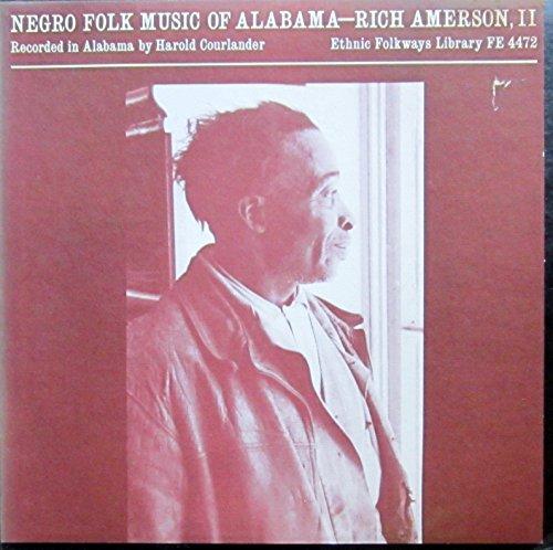 negro folk music of alabama LP