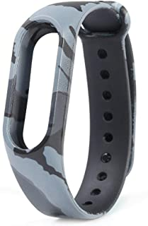 BuyKarNow® Camouflage Grey Band Strap for Xiaomi Mi Band 2 | Xiaomi MI Band HRX Edition | Xiaomi Mi Band HRX Version (Chip Not Included)