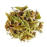 Infusion tilleul bio fleurs Provence - Tisane de fleurs de tilleul en vrac - Tilleul d'été tilleul à grandes feuilles - Origine France Lime Blossoms 50g