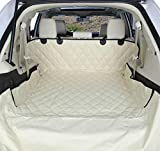 4Knines SUV Cargo Liner for Dogs - Tan Large - USA Based Company