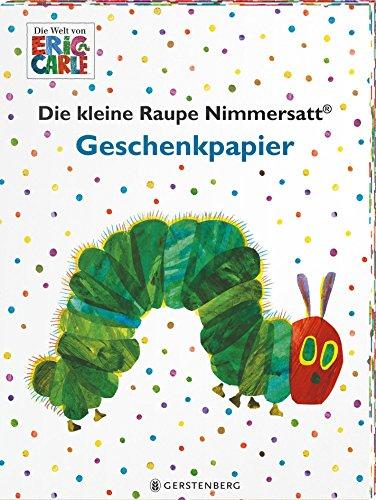 Die kleine Raupe Nimmersatt Geschenkpapier-Heft: 2 x 5 Bögen