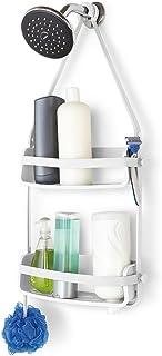 QARYYQ Cuarto De Baño Libre De Perforación Colgando De La Pared Cestas Lechón Baño Cuarto De Baño Cestas De Almacenamiento estantería de baño (Color : White)