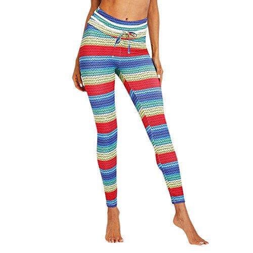 FRAUIT Classics dames sportlegging legging denim jersey vrouwen leggings push-up print casual regenboogkleur, katoen meisjes broek fitness mode yoga broek broek broek legging