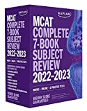 MCAT Complete 7-Book Subject Review 2022–2023: Books + Online + 3 Practice Tests (Kaplan Test Prep)
