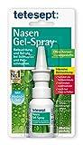 tetesept Nasen Gel-Spray – Nasenspray mit Hydro-Gel-Feuchtigkeitsfilm - Befeuchtung und Schutz...