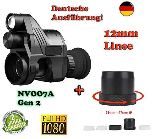 Maximtac Nachtsichtgerät Pard NV007A German-Edition mit 12mm Linse, bis 170m Sicht. BRD + Universal Schnell-Adapter