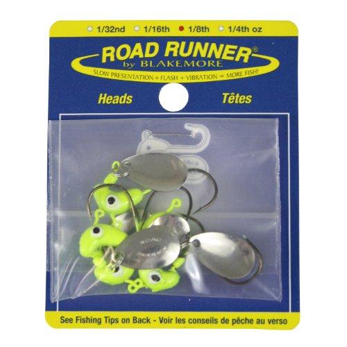 Blakemore TTI Fishing Co Road Runner Bulk Head Hook (Chartreuse, 1/32-Ounce)