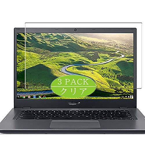 VacFun 3 Piezas Claro Protector de Pantalla, compatible con Acer Chromebook 14 CP5-471 14', Screen Protector Película Protectora(Not Cristal Templado) NEW Version