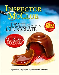 Paul Lamond Games A Classic Detective Murder Mystery Dinner Party with DVD Death by Chocolate