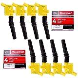 MAS Ignition Coil DG508 & Motorcraft Spark Plug SP479 compatible with...