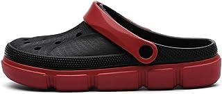 WYTX Talla 40-45 Sandalias Planas de Verano para Hombre Slip On Zapatillas de Playa de Agua Transpirable Zapatos Amarillos...