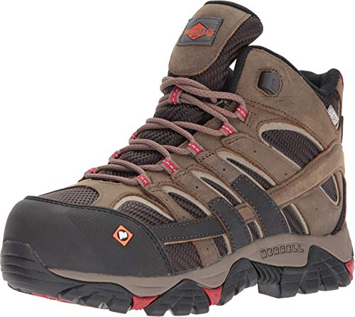 Merrell Moab 2 Vent Mid Waterproof Comp Toe Work Boot