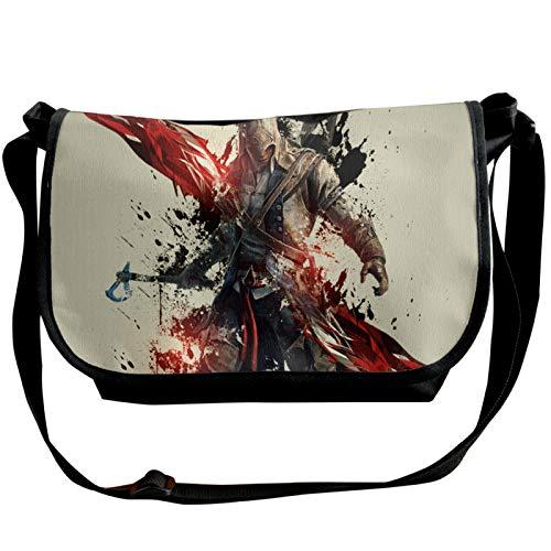Assassin's Creed - Bolsa de lona para estudiante para hombre y mujer