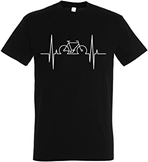 Bici Downhill Camiseta de Bicileta: One Engine Camisetas Divertida-s BTT Regalo para Ciclistas Fixie-Bike Shirt MTB Regalos Deporte Retro Mountain-Bike BMX Ciclista