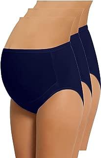 NBB 女式可调节孕妇内裤高帮棉质 OVER bump 内裤三角裤
