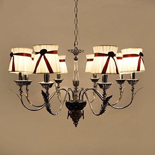 5151BuyWorld lamp kroonluchter suspendering geleid met Lampadario een stoffen lampenkap Soffitto voor woonkamer slaapkamer moderne kroonluchter kandelaber topkwaliteit