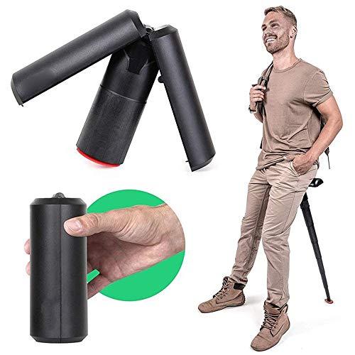 DSAEFG draagbare stoel, hiphop wandelstok, verstelbaar, voor kamperen, wandelen, vissen, buitenactiviteiten
