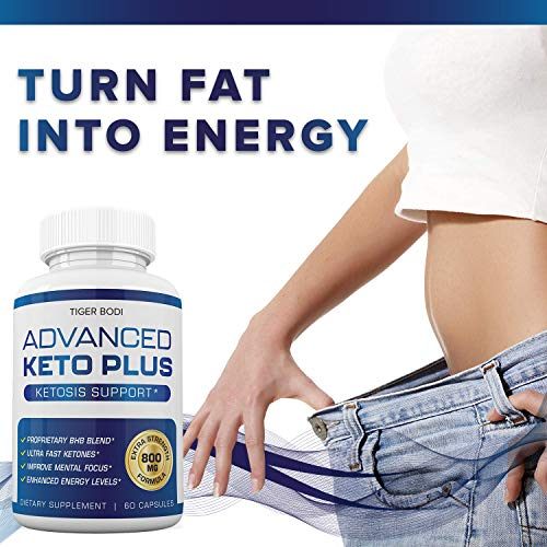 Keto Advanced Weight Loss, Advanced Keto Plus Keto Advance - Advanced Keto Diet Pill Fast Burner Supplement for Energy - BHB Ultra Boost Exogenous Ketones for Rapid Ketosis for Men Women 5