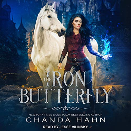 The Iron Butterfly Audiobook By Chanda Hahn cover art