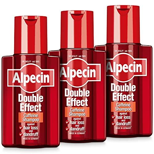 Alpecin Doble Efecto Champú 200ml (Pack de 3)