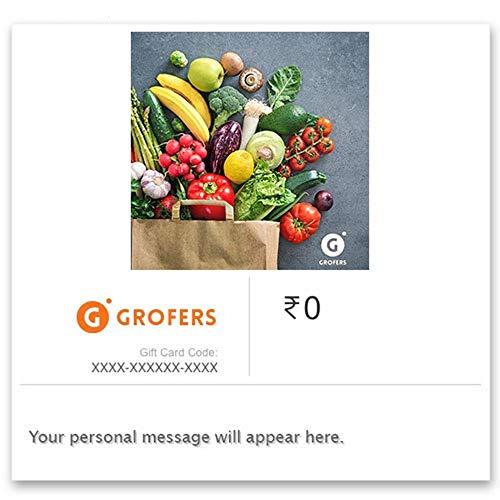 Grofers - Digital Voucher - Rs.1000