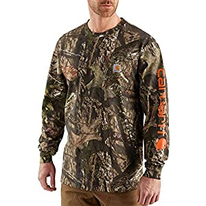 Carhartt Men's Workwear Graphic Camo Long Sleeve T Shirt