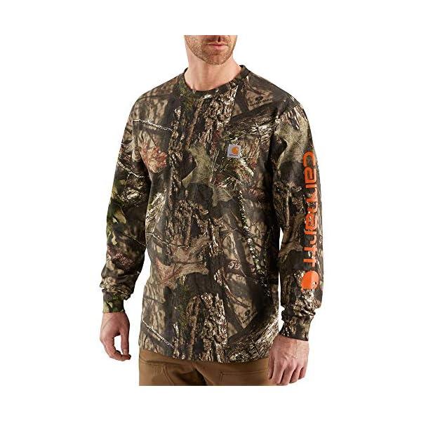Carhartt Men's Workwear Graphic Camo Long Sleeve T Shirt