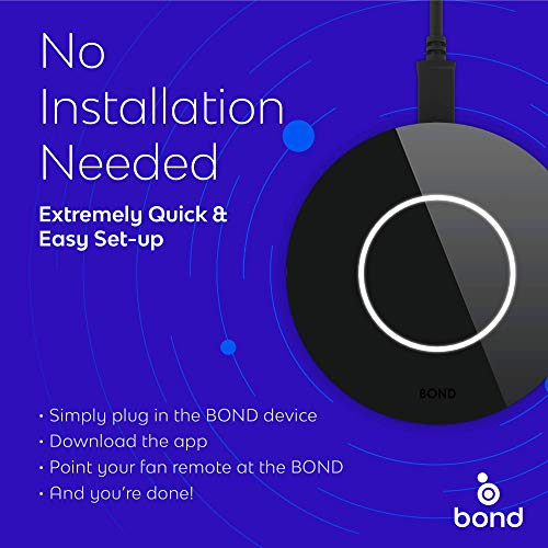 BOND | Smart Home Automation | Make your Ceiling Fan or Fireplace Smart through WiFi | Works with...